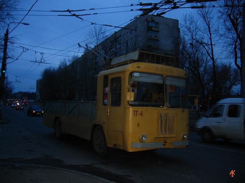 Обычные грузовые троллейбусы
